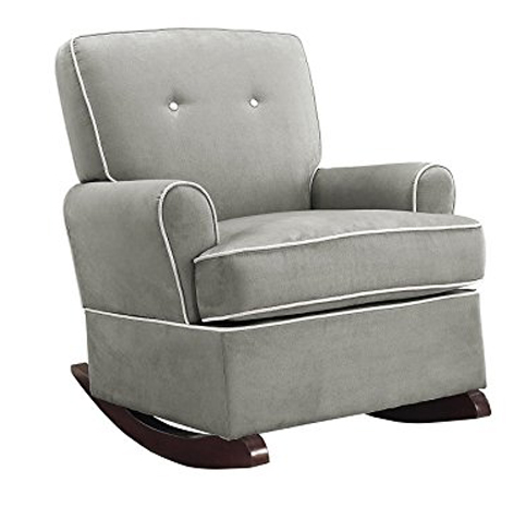 3. Baby Relax Gray Tinsley Rocker Chair