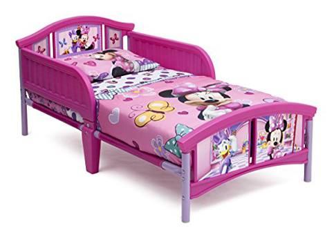 3. Delta Children Plastic Toddler Bed