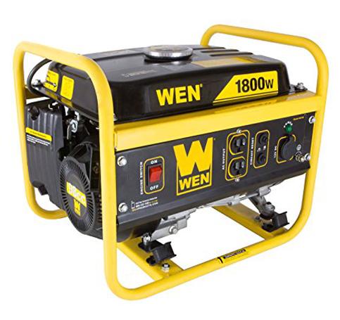 4. WEN 56180, 1500 Running Watts generator