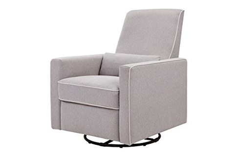 6. DaVinci Grey Finish All-Purpose Recliner