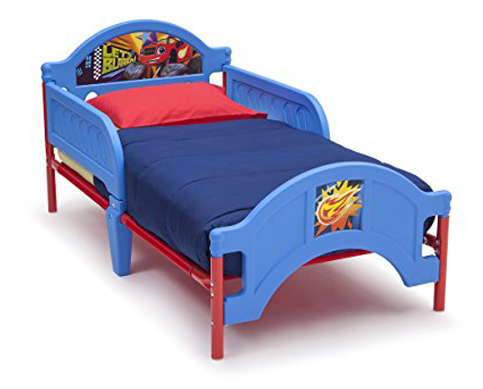 4. Delta Children Plastic Toddler Bed