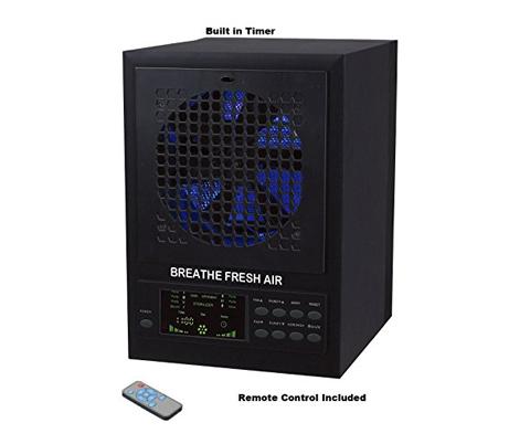 6. Breathe Fresh 5-in-1 Air Purifier Ionizer Odor Reducer