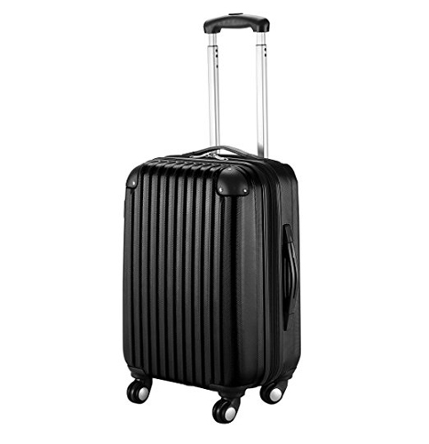 "9. Goplus 20"" Carry On Luggage (GLOBALWAY)"