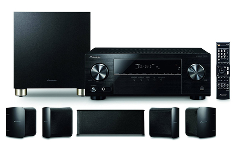1. Pioneer HTP-074 Home Theater System