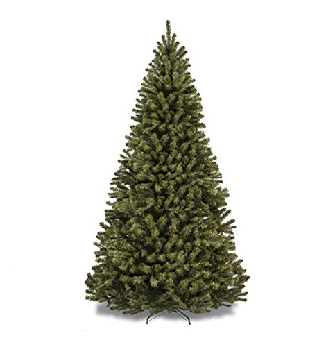 6. Best Choice Products 7.5 Feet Premium Spruce Hinged Artificial Christmas Tree