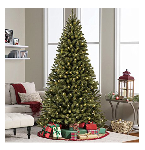 7. Best Choice Products 7.5 Feet Premium Spruce Hinged Artificial Christmas Tree
