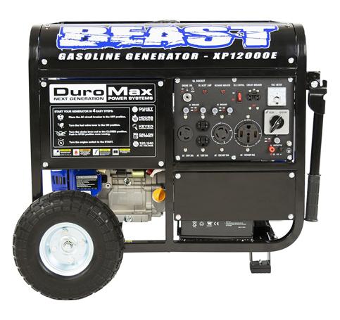 9. DuroMax XP12000E 12000W Generator