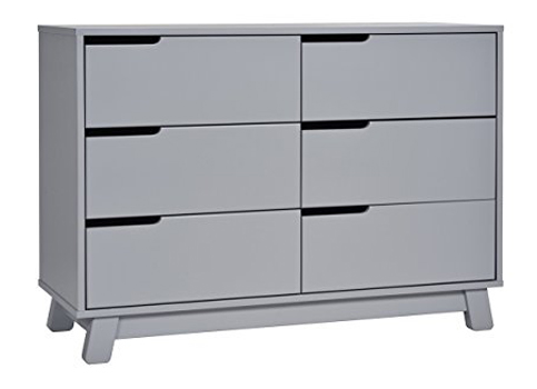 1. Babyletto Grey 6-Drawer Double Dresser
