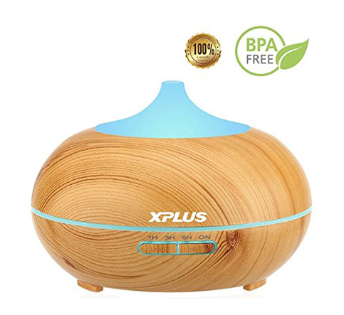 8. XPLUS 300ml Aromatherapy Ultrasonic Humidifier
