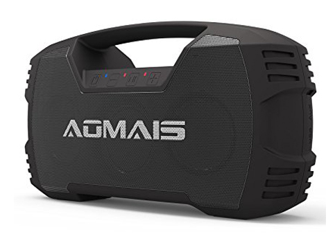 1. AOMAIS GO Bluetooth Portable and Waterproof Speaker