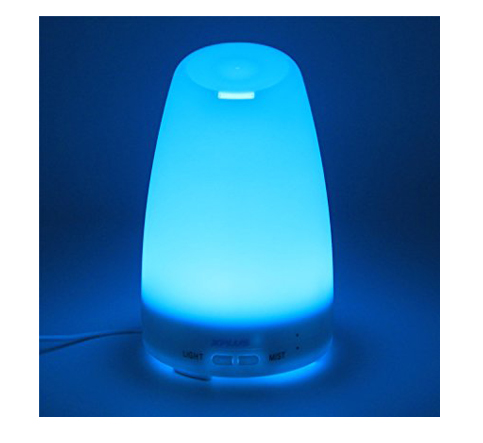 6. XPLUS 120ML Essential Oil Diffuser Portable Ultrasonic Diffuser