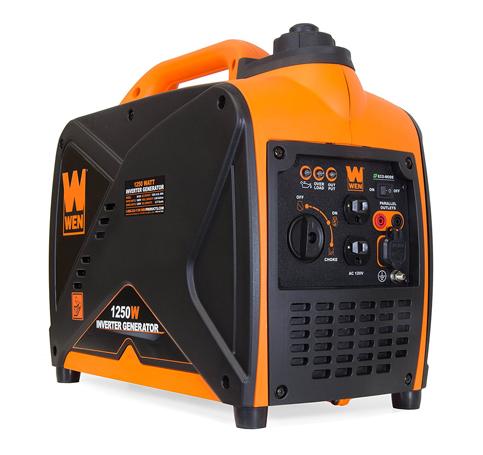 6. WEN 56125i Super Quiet 1250W generators