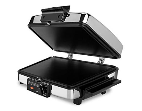 6. BLACK+DECKER G48TD 3-in-1 Waffle Maker