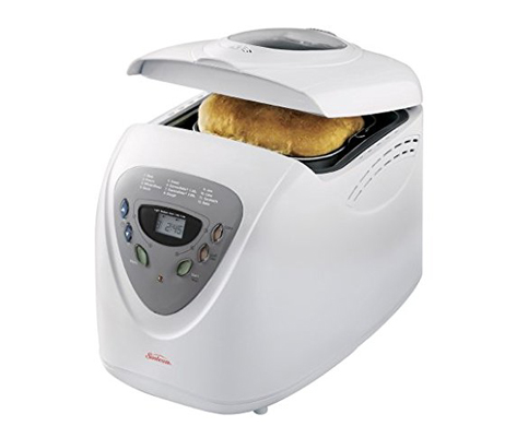 6. Sunbeam 5891 2-Pound Programmable Bread Maker
