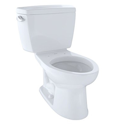 1. TOTO CST744SL#01 Drake Two-Piece Toilet