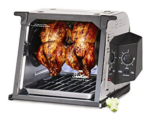 Ronco 4000 Series Stainless Steel Rotisserie