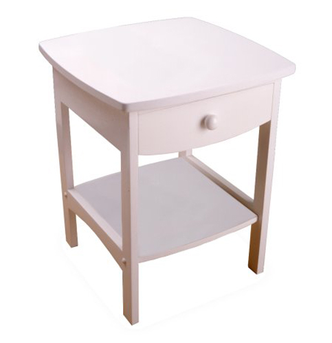 9. White winsome wood nightstand-Best quality nightstand