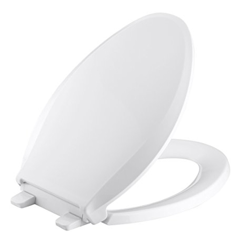 5. KOHLER K-4636-0 Quiet-Close Elongated Toilet Seat