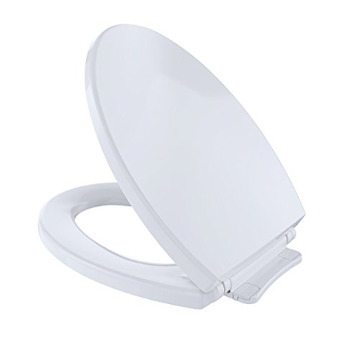 4. Toto SS114 01 Elongated Toilet Seat Cover