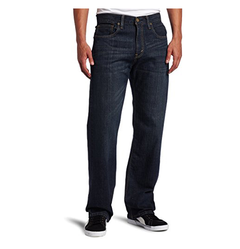 8. Levi's Men's 569 Loose Jean (Straight-Leg)