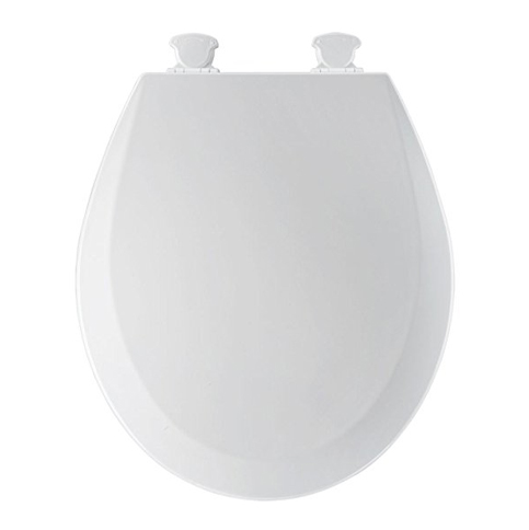 1. Bemis 500EC000 Round Toilet Seat