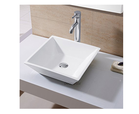 5. Decor Star CB-006 Bathroom Porcelain Ceramic Vessel Vanity Sink Art Basin