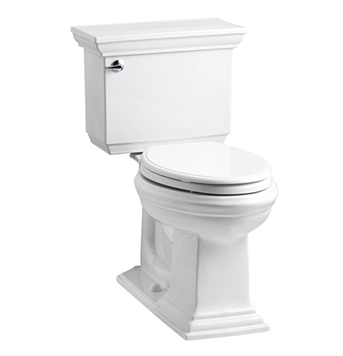9. KOHLER K-3819-0 Memoirs Comfort Two-Piece Toilet