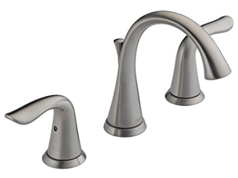 4. Delta 3538-SSMPU-DST Two Handle Bathroom Faucet
