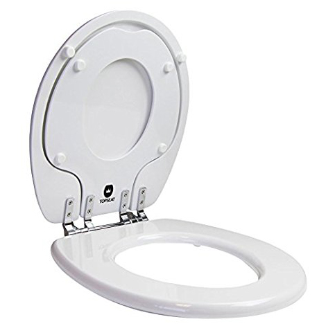 8. Topseat 6TSTR9999CP with Adult and Potty Toilet Seat