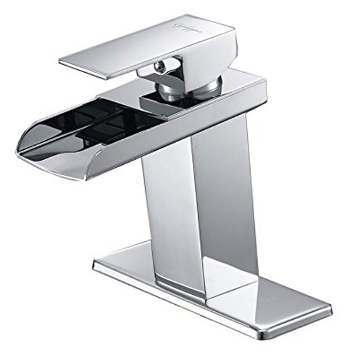 3 Eyekepper Modern Waterfall Bathroom Sink Faucet