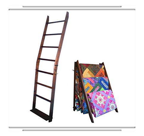 1. The LadderRack 2-In-1 7-Bar A-Frame Stand