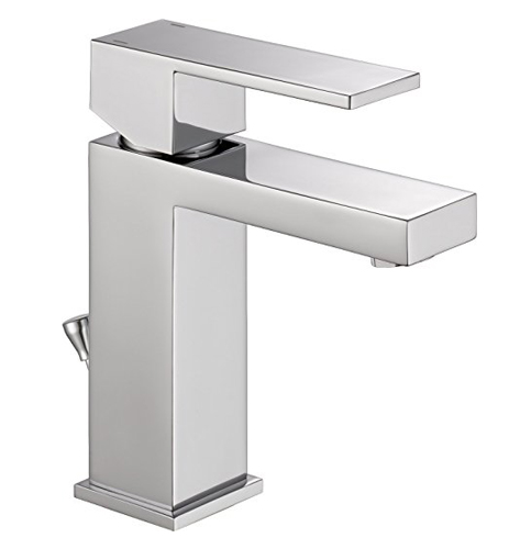 2. Delta Faucet 567LF-PP Single HHHandle Bathroom Sink Faucet