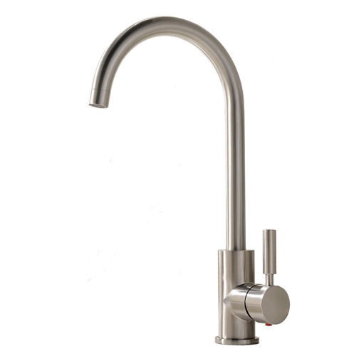7 Comllen Single Handle and Single Lever Stainless Steel Kitchen Faucet