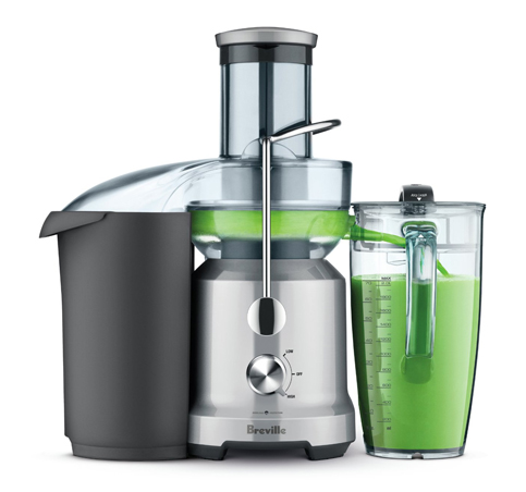 4 Breville Juice Fountain Cold (BJE430SIL)