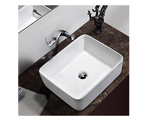 9. Comllen above Counter Bathroom Vessel Sink
