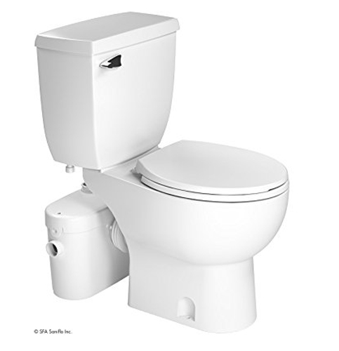 10. SANIFLO SANIACCESS 2-Piece Round Toilet