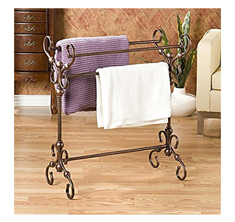 2. Harper Blvd Antique Bronze Quilt Rack