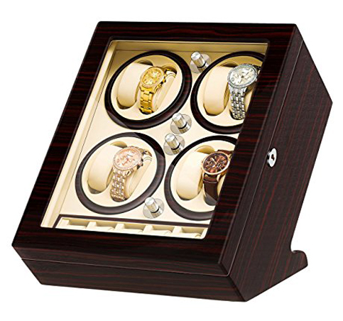 10. JQUEEN Eight Watch Winder Box