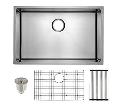 5 Frigidaire Stainless Steel Sink-Undermount