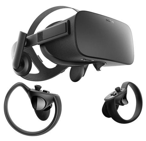 1. Oculus Rift Plus Touch VR System