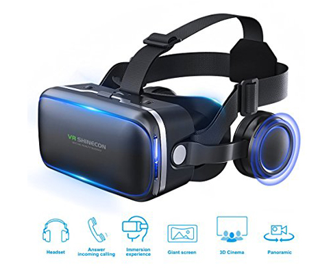 9. Pansonite 3D Virtual Reality Headset