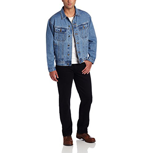 1. Wrangler Unlined Denim Jacket