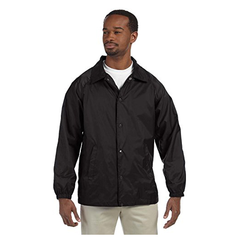 2. Harriton Nylon Staff Jacket