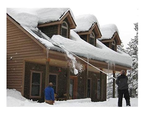8. MinnSnowta Dynamo Razor Roof Snow Rake