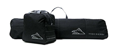1. High Sierra Sleeve and Boot Bag Combo