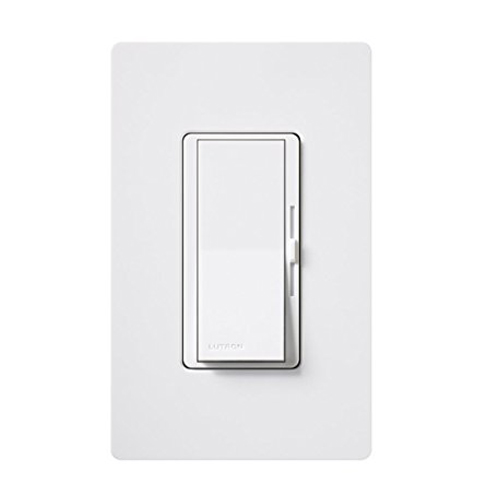 10. Lutron DIVA DVWCL-153PH-WH Dimmable Switch