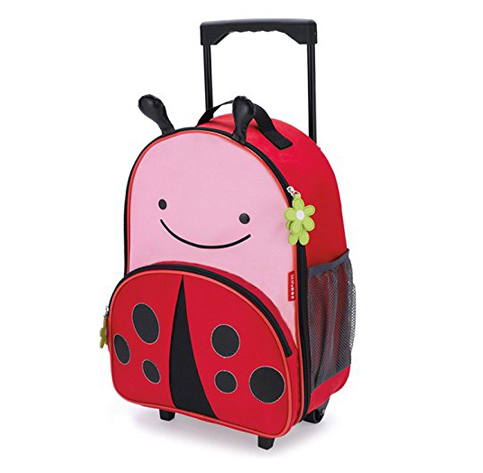 1. Skip Hop Ladybug Zoo Little Kid Luggage