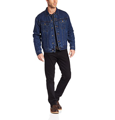 5. Wrangler Rugged Wear Flannel-Lined Jacket