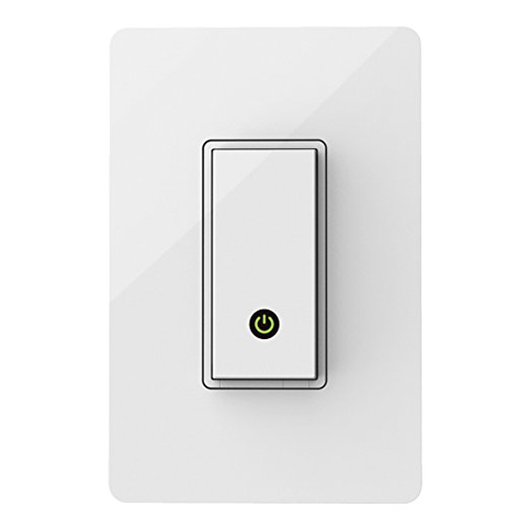 3. Wemo WiFi Enabled Light Switch