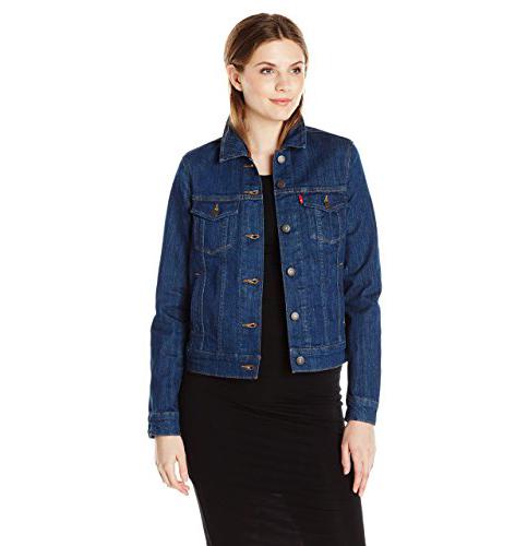 1. Levi's Classic Women's Trucker Jacket